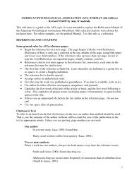 Apa 6 Essay Format Example Applydocoumentco