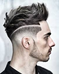 Coiffure Homme Meche Grise