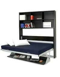wall bed with desk opened horizontal bed desk with vertical shelving murphy bed desk combo