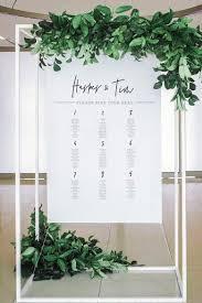 Minimalist Seating Chart Diy Print In 2019 Wedding