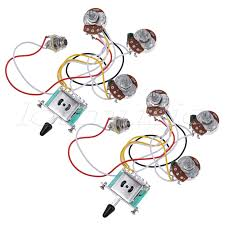 popular guitar toggle switch wiring buy cheap guitar toggle switch electric guitar wiring harness prewired kit 5 way toggle switch 250k 2t1v pots for strat parts