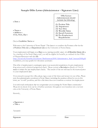 Business Letter Format Closing And Signature Sample Template With