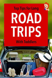 road trip with toddler 9 essential