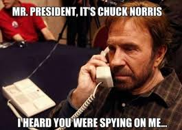 Chuck Norris Quotes Enchanting Mr PresidentIt's Chuck Norris Funny Image