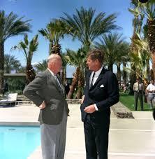 kn c president john f kennedy former president dwight president john f kennedy former president dwight d eisenhower in palm springs california