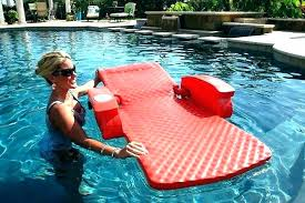 chair pool float charming reclining floating chairs floats loungers outdoor lounge