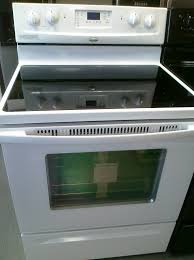 How To Clean A Glass Top Stove Stainless Whirlpool Glass Top Stove Wonderful Kitchen Ideas