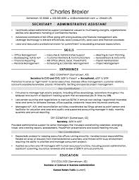 Business Administration Resume Objective Examples Bachelor Sample