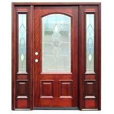 5 panel exterior door 5 panel exterior door traditional 3 4 arch lite stained mahogany wood 5 panel exterior door