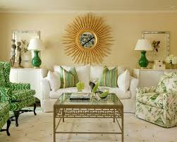 furniture elegant living room in grass green and gold from hickory chair