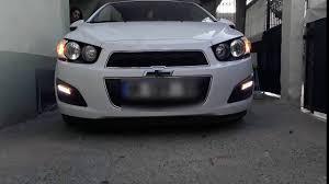 Chevrolet Sonic Lights Chevy Sonic Drl Youtube