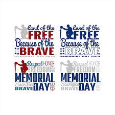 Memorial Day Live Templates 2 Pack