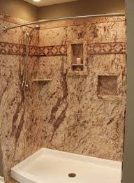 don t forget shower storage in a diy shower kit recessed niches shown in