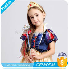 Luxury Royal Princess Snow White Costume For Girls