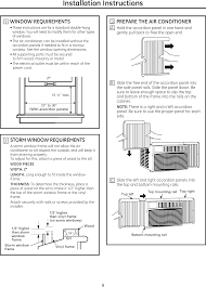 001 window air conditioner user manual general electric company page 9 of 001 window air conditioner user manual general electric company