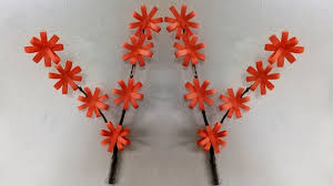 diy wall decoration ideas with paper diy room decor paper flowers wall decoration