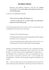 The Perfect Resume Resumes That Work In The New Economy Get A
