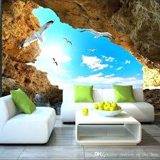 beach mural bedroom ocean bedroom wallpaper beach tropical wall mural custom wallpaper for walls seagull photo