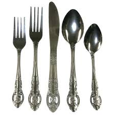 stainless flatware set stainless steel piece classic flatware set service for 8 wallace stainless steel flatware stainless flatware