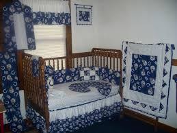 indianapolis colts crib nursery bedding