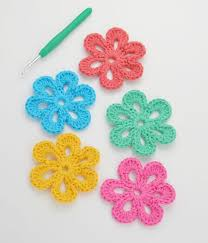 Easy Crochet Flower Patterns Free Mesmerizing Easy Free Crochet Flower Pattern