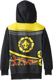LEGO Ninjago Cole Schwarz Jungen Kostüm Hoodie (8) : Amazon.de: Bekleidung