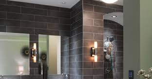 use recessed lighting in your bathroom