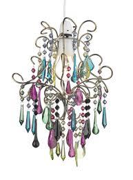jod65 jodi non electric pendant with multi coloured drops