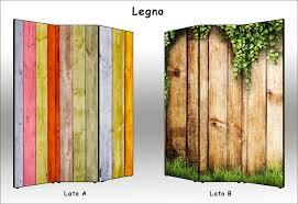 Assi Di Legno Colorate : Divisori in legno da esterno canlic for