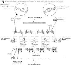 vtec rocker arm diagram honda tech i m pretty sure that the f22b1 and f23 valve train is set up the same way