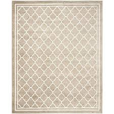 unique safavieh amherst collection amt422s wheat and beige indooroutdoor area rug 8u0027 x 10u0027 intended