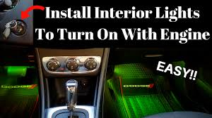 How To Install Lights In Car Interior Visual Tech Reviewshow To Install Led Lights In Car Interior