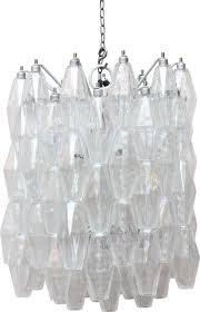 pliedri chandelier in murano glass carlo scarpa 1960s sold