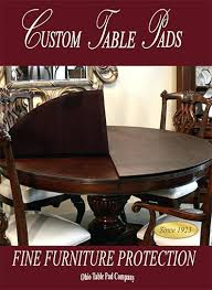Dining Room Table Protective Pads Unique Decoration