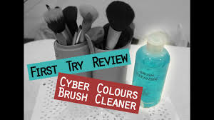 first try review brush cleaner solution