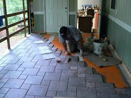 porch floor tiles porch tile wood porch with a tile deck professional deck builder outdoor car porch floor tiles