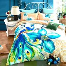 peacock bedding peacock bedding sets peacock comforter set king image of peacock bedspread king size peacock