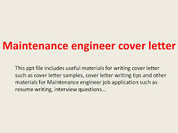 maintenanceengineercoverletter 140228015337 phpapp02 thumbnail 4jpgcb1393552527 maintenance engineer cover letter