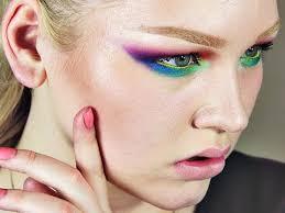 spring rainbow makeup tutorial