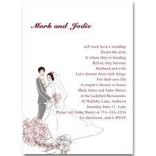 Couple Wedding Shower Invitations Custom Pink Coed Couples Wedding Shower Invitations Online