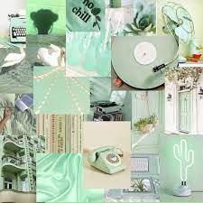 Green aesthetic, Light green walls ...