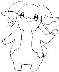 Eevee Ant Vriends Kleurplaat Coloring Pages Pokemon Audino Drawings
