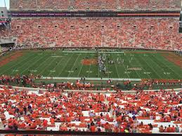Memorial Stadium Clemson Interactive Seating Chart