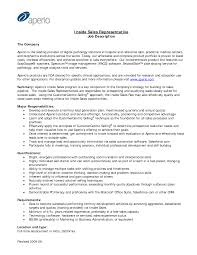 Sales Rep Resume Job Description