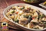 beef and bows alfredo
