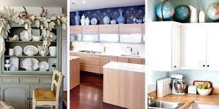 Above Kitchen Cabinet Decorations New Inspiration Design
