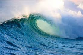 Tsunami waves may travel as fast as jet planes over deep waters, only slowing down when reaching shallow waters. Military Created A Tsunami Bomb Tsunami Wave Live Science