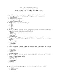 Soal tes ujian sim c terbaru 2021. Soal Pretest Pelatihan Penanggulangan Bencana Kebakaran