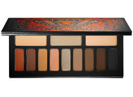 the palette you should try out for your warm undertones is monarch eyeshadow palette by kat von d with its warm orange brown and gold shades