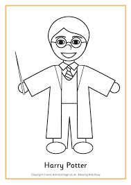 Harry Potter Coloring Page Harry Potter Coloring Pages To Print